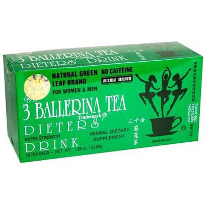 Three Ballerina Tea - Nature Slimming Tea